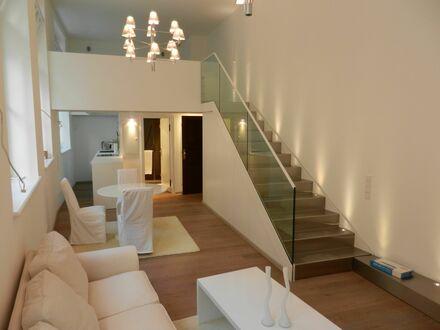 Exklusive, hochwertig ausgestattete 1,5-Zimmer Maisonette-Galerie Wohnung in München-Schwabing/Maxvorstadt | Spacious loft…