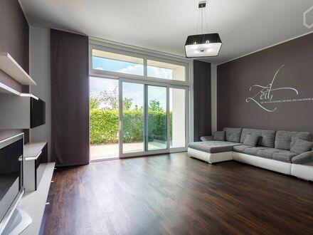 Sehr schöne große Maisonette Wohnung (120 qm - 3,5 Zimmer) mit fantastischem Skylineblick   Very beautiful big apartment…