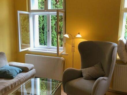 hochwertige schöne sonnige 2 Zi Wohnung in Hohenseefeld, Garten , kompl eingerichtet , frisch renoviert, fischgrätenparkett…