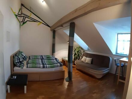 Tolle Dachgeschosswohnung, direkt in der Dresdner Altstadt | Amazing Apartment in Dresden City