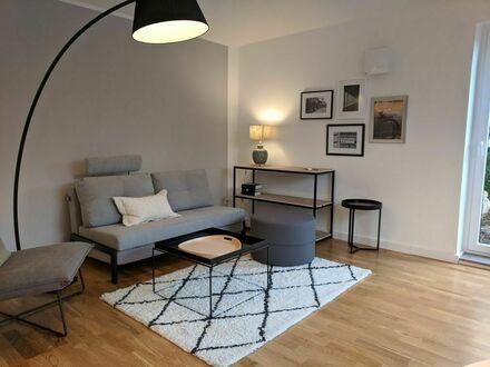 Landhaus-Flair! 2-Zimmer-Erdgeschosswohnung mit Terrasse in Düsseldorf-Ludenberg   Country house flair! 2 room first floor…