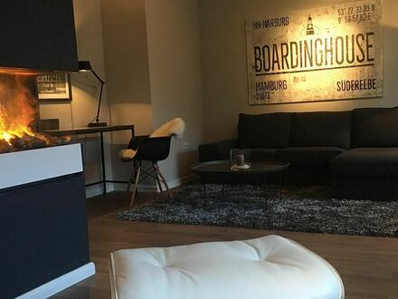 Design Apartment mit Kamin und Balkon in Hamburg | Home Sweet Home - Deluxe Design Apartment with balcony in Hamburg
