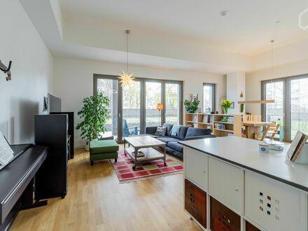 Helle Gartenwohnung auf der Halbinsel Stralau (Friedrichhain) | Beautiful garden apartment on Stralau, near Ostkreuz (Friedrichshain)