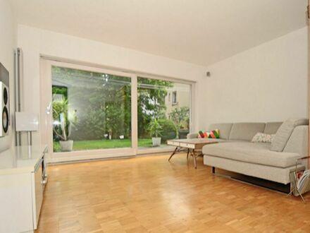 Vollausgestattete Wohnung mit zwei Schlafzimmer, drei Terrassen, Garten und TG-Stellplatz in Stuttgart-Heslach - ideal für…