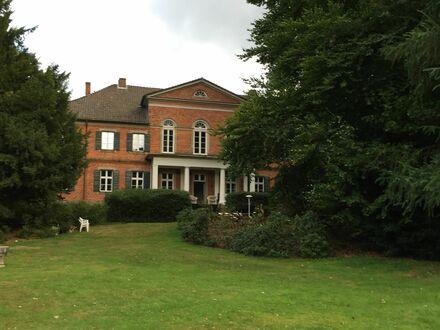 Leben im Park / Wohnung im historischen Herrenhaus mit schnellem WLAN | Living in a Manorhouse, half an hour drive to Hamburg