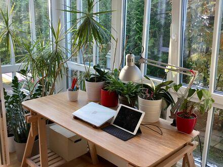 Moderne voll ausgestattete Wohnung mit kleinen Garten nähe BMW | Charming fully equipped flat with a small garden near BMW,…