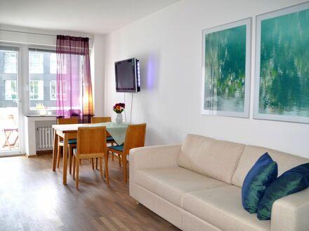 Modernes vollmöbliertes Appartment im Medienhafen | Nice and wonderful apartment in Düsseldorf