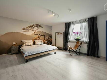 Loft-Apartment mit WLAN und viel Komfort, zentral | Newly renovated apartment in central location of Oberhausen with pa…
