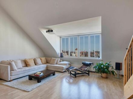Modernes und großartiges Dachterrassen Apartment Loft 104m² am Isartor mit Galerie | Neat & awesome roof top terrace loft…