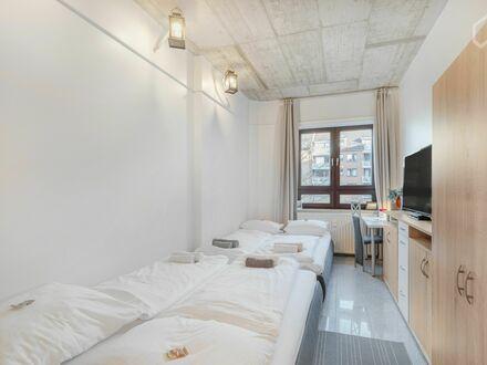 Schicke, helle Wohnung auf Zeit | New & bright loft (Hamburg)