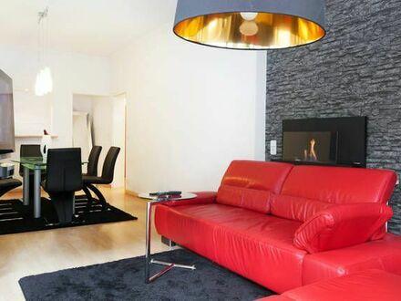 Ruhige Design Stadt-Wohnung mit Gartenzugang | Quiet Design City Flat with Garden Access