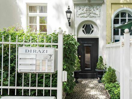 Ruhiges Apartment mit Blick auf den Vorgarten | Quiet apartment with a view of the front garden