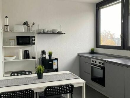 Business Apartment mit Balkon im Zentrum von Karlsruhe | Business Apartment with balcony in the centre of Karlsruhe