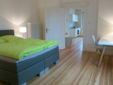Stilvoll Wohnen in mod. Altbau-Villa Kleine Auster mit Balkon | Gorgeous apartment Kleine Auster in Saarbrücken