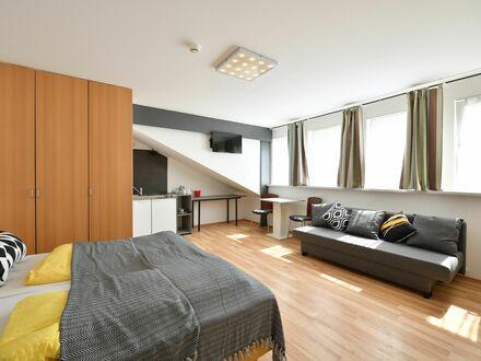Zentralgelegenes, wundervolles Loft im Stadtzentrum   Centrally located, charming suite in the city centre
