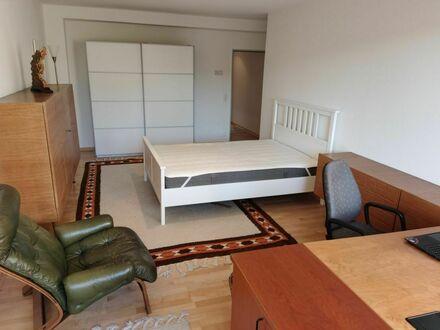 Ruhige Wohnung im Grünen mit Terrasse, Pool und Sauna   Quiet apartment in the countryside with terrace, pool and sauna