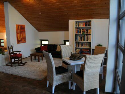 Großzügiges gemütliches Studio Apartment in Heimsheim mit schöner Terrasse in bester und ruhiger Südlage mit Aussicht  …