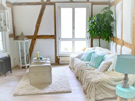 Liebevoll eingerichtetes Loft-Fachwerk-Apartment mitten im Herzen der Altstadt von Frankfurt-Höchst | Lovely Apartment in…