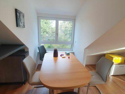 Dachgeschosswohnung sehr hell und gemütlich mit Balkon   Very bright and cosy Apartment with balcony