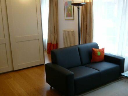 Modern möbliertes Apartment 40m² in zentraler aber ruhiger Lage in Bockenheim   Modern apartment, centrally located