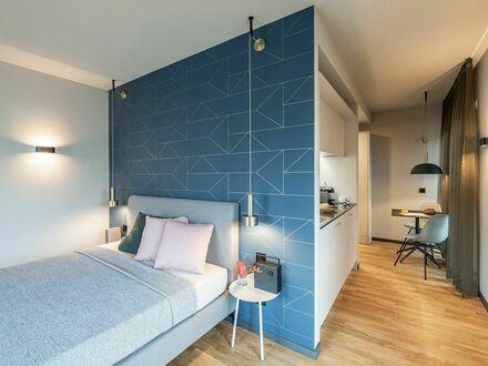 NEW OPENING / Frankfurt Airport /Design-Serviced-Apartment / SMART mit Terrasse | NEW OPENING / Frankfurt Airport /Design-Serviced-Apartment…