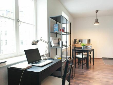 Studioapartment im Szeneviertel Reudnitz mit Entertainment-Ausstattung | Studio apartment in the trendy district of Reudnitz…