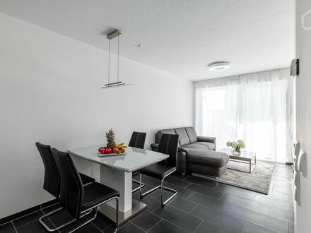 Schickes, möbliertes Business Apartment in Frankfurt am Main mit Balkon / Garten Erstbezug | Nice, pretty studio in Frankfurt…