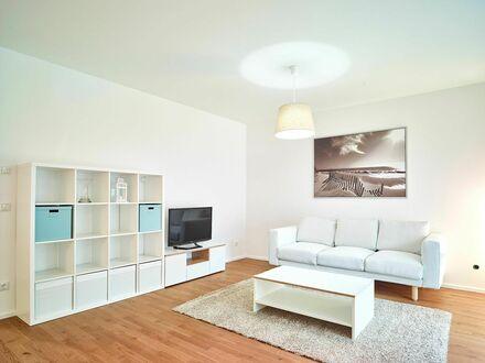 Exklusive, vollausgestattet helle 3-Zimmer Südost-Gartenwohnung mit Einbauküche und TG-Stellplatz | Exclusive, fully equipped…