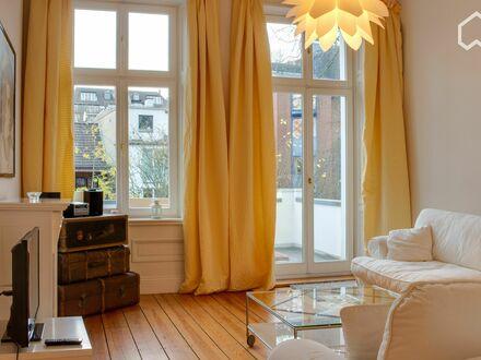 Großartige, ruhige 2 Ziimmerwohnung im Herzen von Rotherbaum | Fashionable & pretty 1 Bedroom Flat in Rotherbaum