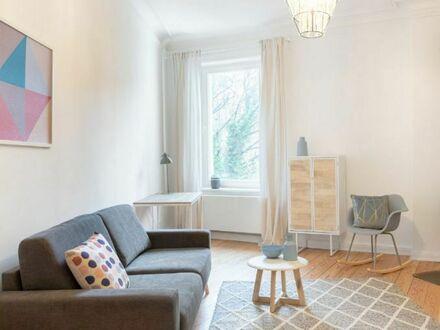 Modern und stilvoll möblierte 3-Zimmer-Wohnung in Altona-Altstadt (Nebenkosten und WLAN inklusiv) | Modern & stylish 3-room…