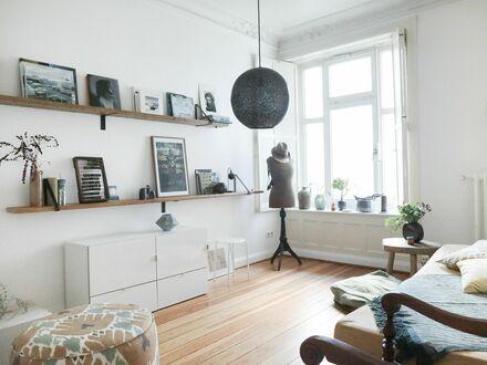 Charmante möblierte Wohnung zur Zwischenmiete für 3-6 Monate | Beautiful apartment for long term rental / min 3 months led…