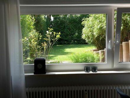 Helle Wohnung im Souterrain mit Gartenblick in Dornbusch | Bright apartment in the basement with garden view in Dornbusch