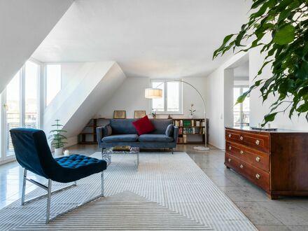 Helle Wohnung über den Dächern von Pasing + Garage | Bright apartment with views over Pasing + garage