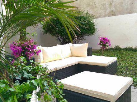 Exklusive Garten-Wohnung in der City | Design garden flat in the city center of Munich