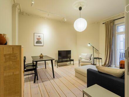 Hochwertige 2-Zimmer Wohnung mit Balkon in fantastischer Lage in Prenzlauer Berg | Highend 2-room flat with balcony in fantastic…
