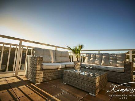 Wohnen über den Dächern Bad Nauheim - Willkommen in der Penthouse Suite von Kampowski Apartments Bad Nauheim ***** | Living…