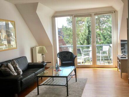 Helle Dachgeschoß-Wohnung mit großem Südbalkon, Köln-Rodenkirchen | Bright apartment on 2nd floor with a south facing balcony