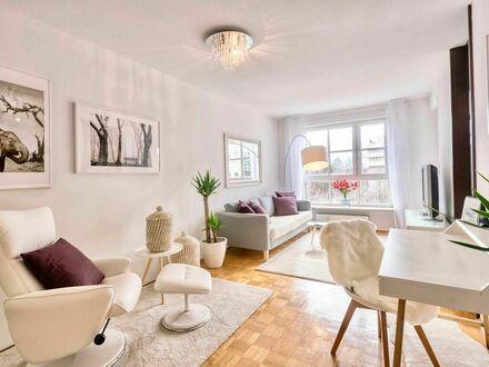 Schönes, modernes 2 Zimmer Apartment im Herzen von München mit Tiefgaragen-Stellplatz | Modern 2 room apartment in the heart…