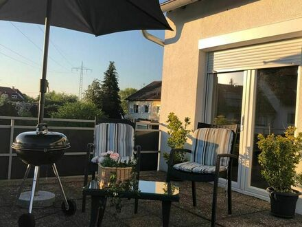 Modernes & ruhiges Studio Apartment mit großer Terrasse und Grill in Freiburg | Modern & quiet studio apartment with large…