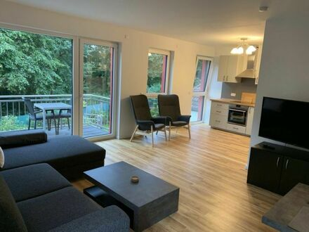 Sonnige Wohnung mit großer Terrasse und Balkon in ruhiger Lage in Essen | Sunny apartment with large terrace and balcony…