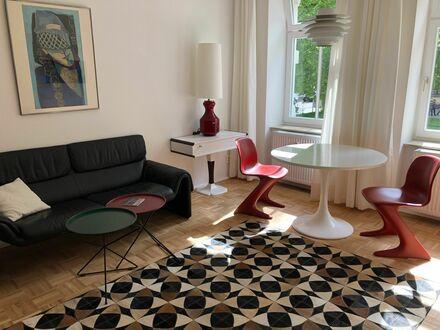 Komfortable Altbau-2-Zimmer Wohnung Exklusiv möbliert ruhig und hell in Leipzig-Plagwitz | Comfortable in old building 2-room…