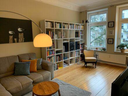 Typischer Hamburger Altbau im beliebten Viertel Eppendorf/Hoheluft   Beautiful, lovely apartment in central area in Hamburg