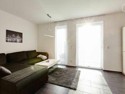 Gemütliches, schickes Studio mit Balkon und direktem Zugang zum Main | Fashionable, nice studio with balcony and direkt access…