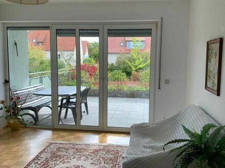Citynahe gehobene 2-Zimmer-Wohnung im Erdgeschoss mit Terrasse in Bad Neustadt | City-near upscale 2 room apartment on the…