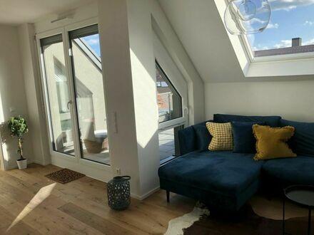 Moderne 1,5 Zimmer Wohnung mit schönem Balkon in toller Wohnlage in Korb | Modern 1.5 room apartment with nice balcony in…