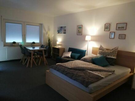 Schicke & stillvolle Wohnung auf Zeit mit Balkon in Pforzheim, nahe Parkanlage   -lovingly furnished, newly renovated temporary…