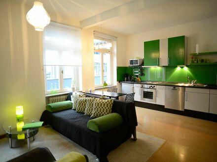 Liebevoll eingerichtete, helle Wohnung in Bonn – nahe DHL, UN, GIZ etc. | Historic building meets modern interiors in Bonn…
