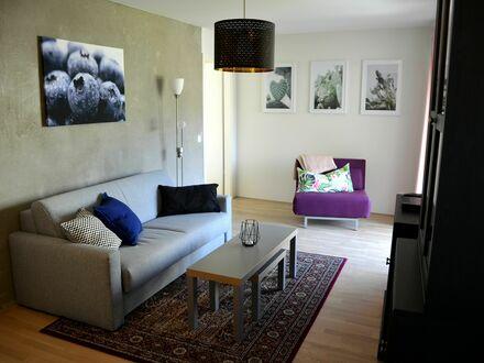 Exklusive 2-Zi Wohnung 50m², 15min zur Innenstadt (HBF) incl. wöchentlicher Reinigung | Exclusive 2-room apartment 50m²,…