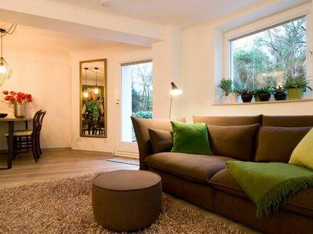 Liebenswerte Wohnung mit idyllischem Blick ins Grüne | Idyllic & lovely garden view Apartment