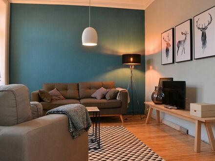 Helles, schickes Studio Apartment in Blankenese, Hamburg | Fashionable and nice home in Blankenese, Hamburg
